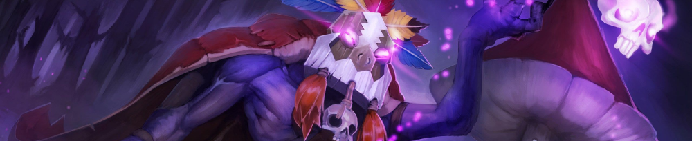 Witch Doctor Heroe Dota 2